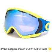 Oakley Canopy Prizm Goggles 2016, Factory Pilot Retina Blue-Priz, medium
