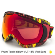 Oakley Canopy Prizm Goggles 2017, Stumped Rasta-Prizm Torch Iridium, medium