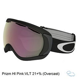 Oakley Canopy Prizm Goggles 2018, Matte Black-Prizm Hi Pink, 256