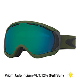 Oakley Canopy Prizm Goggles 2017, Army Green Iron-Prizm Jade Iri, 256