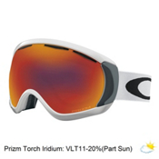 Oakley Canopy Prizm Goggles 2017, Matte White-Prizm Torch, medium