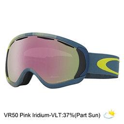 Oakley Canopy Prizm Goggles, Obsessive Lines Citrus-Vr50 Pi, 256
