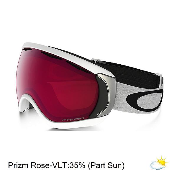 Oakley Canopy Prizm Goggles, Matte White-Prizm Rose, 600