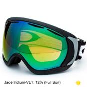 Oakley Canopy Prizm Goggles, Matte Black-Prizm Jade Iridium, medium