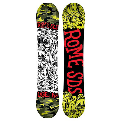 Rome Label Boys Snowboard, 140cm, viewer