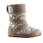 Sorel Glacy Slip On Womens Boots, Silver Sage, medium