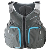 Stohlquist Misty Womens Kayak Life Jacket 2017, Gray-Blue, medium