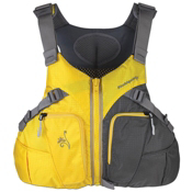 Stohlquist Misty Womens Kayak Life Jacket 2015, Sun-Gray, medium