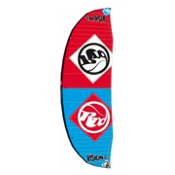 RRD Vision MKIII Kiteboarding Kite, Cyan-Red, medium