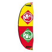 RRD Vision MKIII Kiteboarding Kite, Yellow-Red, medium