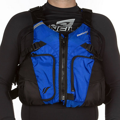 Stohlquist Coaster Adult Kayak Life Jacket, Royal Blue-Black, viewer