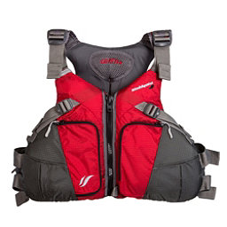Stohlquist Coaster Adult Kayak Life Jacket 2017, Red-Gray, 256