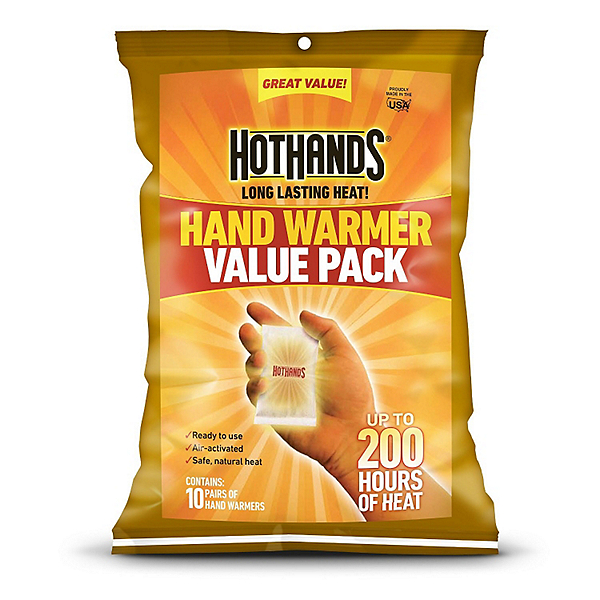 Hot Hands Hand Warmers 10 Pack, , 600