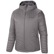 Columbia Mighty Light Hood Tall Mens Jacket, Boulder, medium