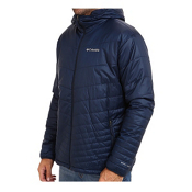 Columbia Mighty Light Hood Tall Mens Jacket, Collegiate Navy, medium