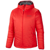Columbia Mighty Light Hood Tall Mens Jacket, Bright Red, medium