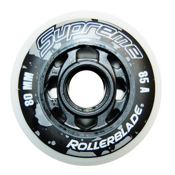 Rollerblade Supreme 80mm 85A Inline Skate Wheels - 8 Pack 2016, , medium