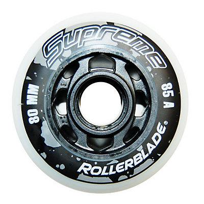 Rollerblade Supreme 80mm 85A Inline Skate Wheels - 8 Pack 2017, , viewer