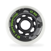 Rollerblade 80mm-80A Urban Inline Skate Wheels - 8pack 2016, , medium