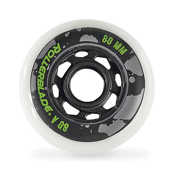 Rollerblade 80mm-80A Urban Inline Skate Wheels - 8pack 2017, , 600