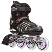 Bladerunner Formula 82 Womens Inline Skates, Black-Purple, medium