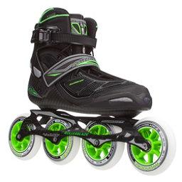 Rollerblade Tempest 100 C Inline Skates, Black-Green, 256