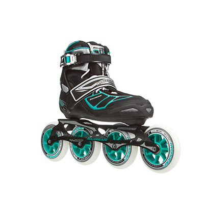 Rollerblade Tempest 100 C Womens Inline Skates 2016, Black-Light Blue, viewer