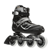 Rollerblade Tempest 90 C Inline Skates, Silver-Black, medium