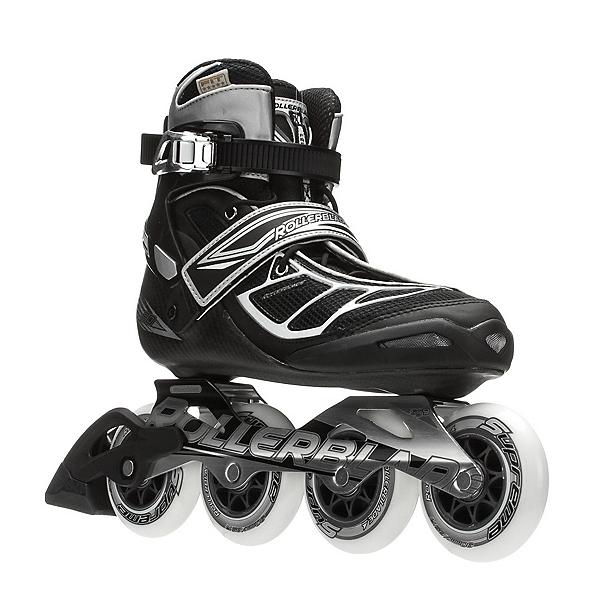 Rollerblade Tempest 90 C Inline Skates, Silver-Black, 600