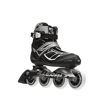 Rollerblade Tempest 90 C Inline Skates, Silver-Black, viewer