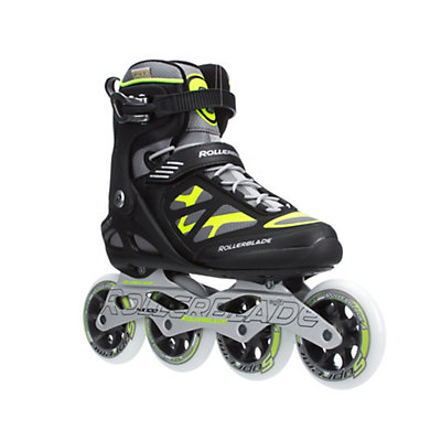 Rollerblade Macroblade 100 Inline Skates, Black-Yellow, viewer