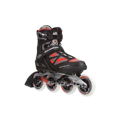 Rollerblade Macroblade 90 Inline Skates, Black-Red, viewer