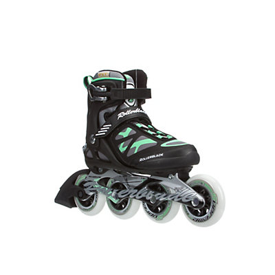 Rollerblade Macroblade 90 Womens Inline Skates 2016, Black-Green, viewer