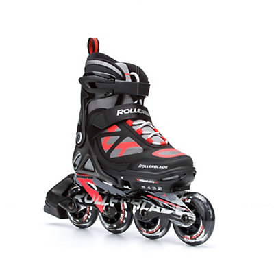 Rollerblade Spitfire LX ALU Adjustable Kids Inline Skates 2016, Black-Red, viewer