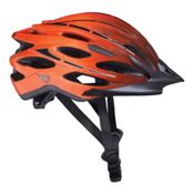 K2 VO2 Max Mens Skate Helmet, Black-Orange, medium
