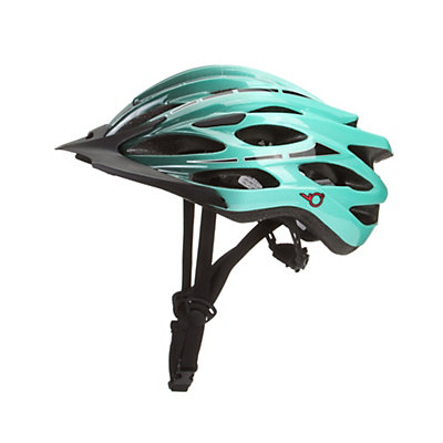 K2 VO2 Max Womens Skate Helmet, Black-Green, viewer