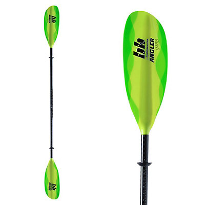 Bending Branches Angler Pro Adjustable Kayak Paddle 2017, Sea Green, viewer