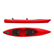 Wilderness Systems Pamlico 135T Tandem Kayak 2016, Red, medium