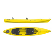 Wilderness Systems Pamlico 135T Tandem Kayak 2016, Saffron, medium