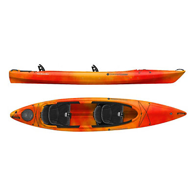 Wilderness Systems Pamlico 135T Tandem Kayak, Lime, viewer