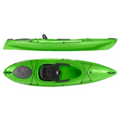 Wilderness Systems Pungo 100 Recreational Kayak 2016, Lime, medium