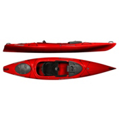 Wilderness Systems Pungo 120 Recreational Kayak 2016, Red, medium