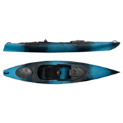 Wilderness Systems Pungo 120 Recreational Kayak 2016, Midnight, medium