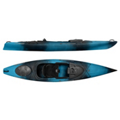 Wilderness Systems Pungo 120 Recreational Kayak 2017, Midnight, medium