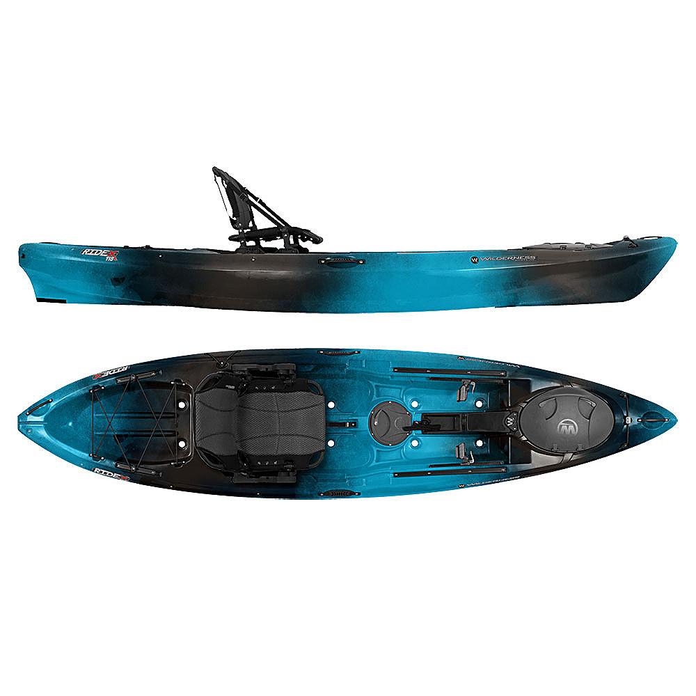 Wilderness systems ride 115x max fishing kayak 2016 ebay for Wilderness fishing kayak