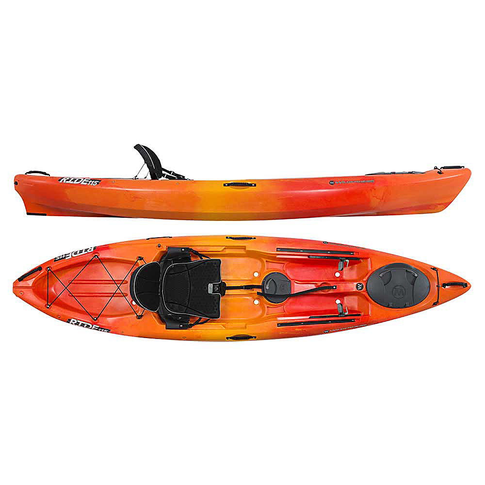 Wilderness systems ride 115x max fishing kayak for Wilderness systems fishing kayaks