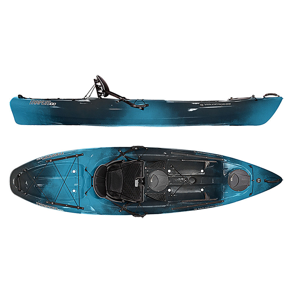 Wilderness systems tarpon 100 sit on top kayak 2016 ebay for Wilderness systems fishing kayaks