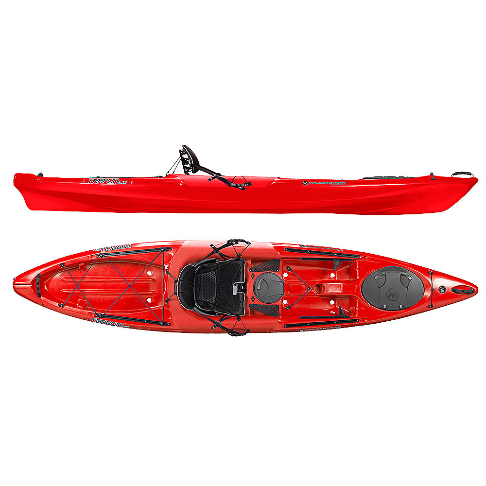 Wilderness systems tarpon 120 sit on top kayak 2017 ebay for New fishing kayaks 2017