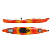 Wilderness Systems Tsunami 120 Light Touring Kayak 2016, Mango, medium