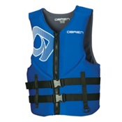 O'Brien Traditional Neoprene Adult Life Vest 2017, Blue, medium